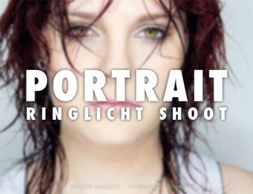 Ringlicht Portrait Charmaine