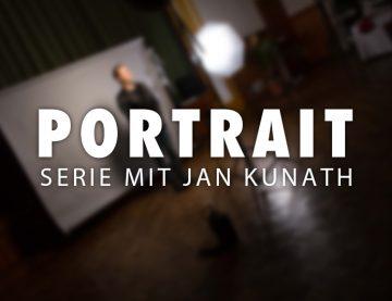 Portrait Serie mit Jan Kunath