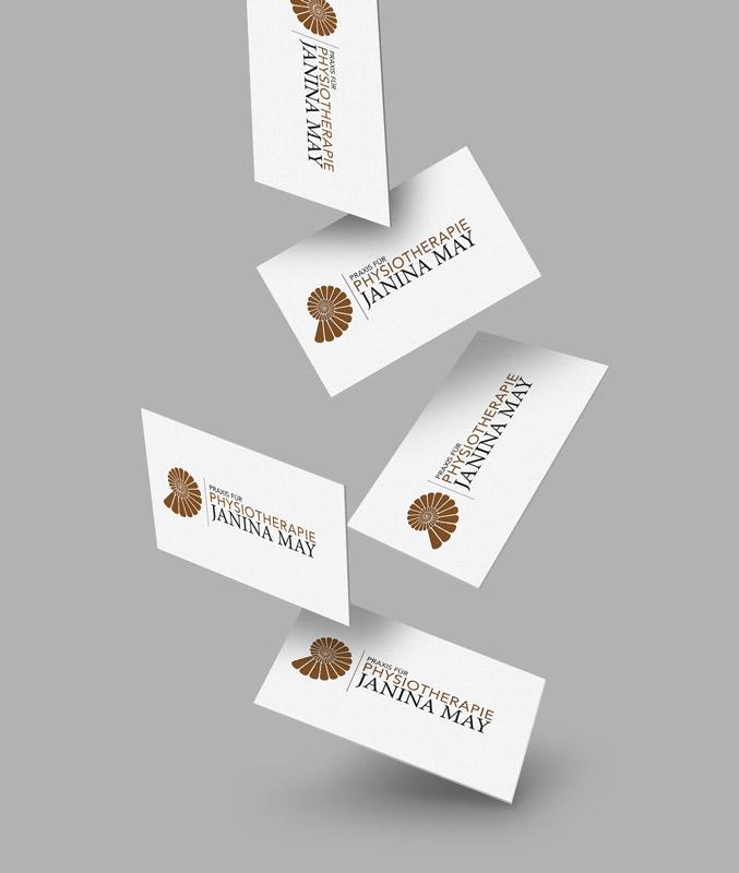 Janina May Logo Präsentation Grafik Design Bad Salzungen Werbung Philipp Mikuletz