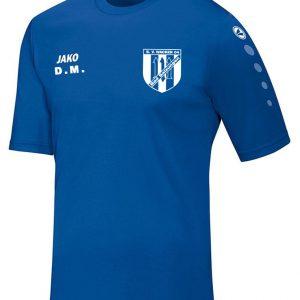 Textildruck Folientechnik Shirt SV Wacker 04 Bad Salzungen Philipp Mikuletz Plotter
