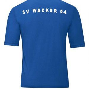 Textildruck Shirt SV Wacker 04 Bad Salzungen Folientechnik Philipp Mikuletz