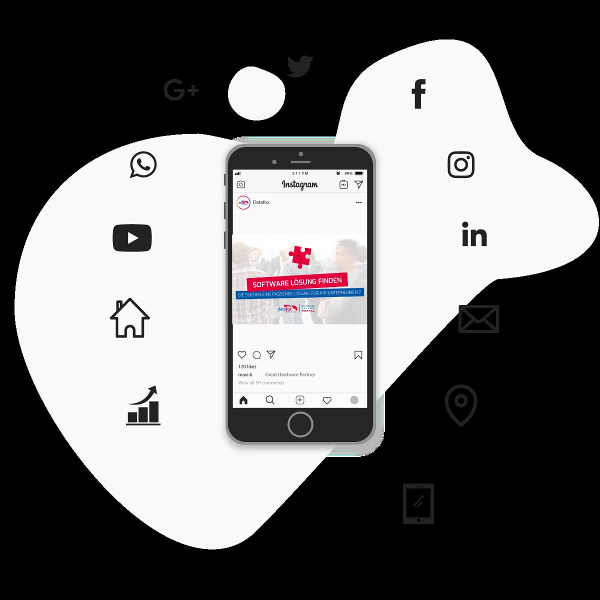 Marketing Social Media Werbung