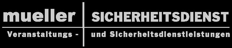 Logo Design Sicherheitsdienst Müller Thüringen Werbung Bad Salzungen